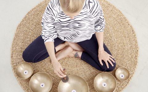 Yoga Nidra mit Klangschalen